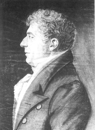 Hanseaten (class) - Christian Adolph Overbeck,  mayor of the Free Imperial and Hanseatic City of Lübeck, son of Eleonora Maria Jauch (drawing by Johann Friedrich Overbeck)