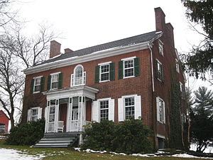 Liberty Township, Centre County, Pennsylvania - The Christian Bechdel II House, a historic site in the township