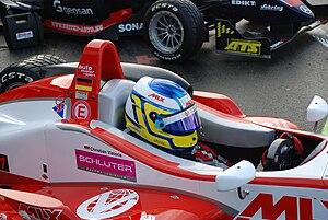 Christian Vietoris - Vietoris competing at the opening round of the 2008 Formula Three Euroseries season at Hockenheim.