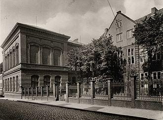 Gymnasium Christianeum - The old Christianeum before 1972