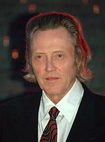 Photo o Christopher Walken in 2009.