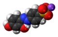 Chrysoine resorcinol sodium 3D spacefill.png