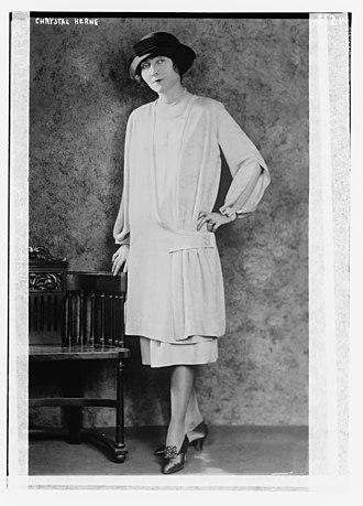 Chrystal Herne - Herne in 1918