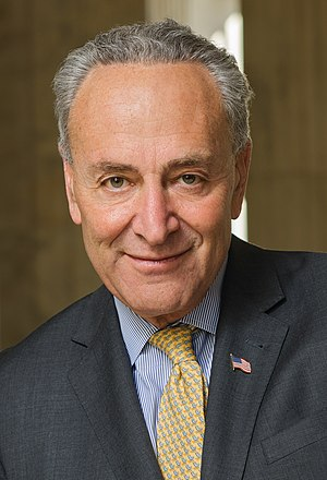 Party leaders of the United States Senate - Minority Leader Chuck Schumer (D)