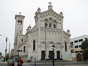Church in the Magdalena del Mar district