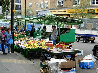 Lisson Grove - Image: Church Street Market, Lisson Grove geograph.org.uk 413862