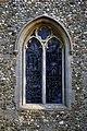 Church of St Mary Broxted Essex, England - west window.jpg