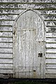 Church of St Mary Magdalen Laver Essex England - tower north door.jpg