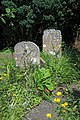 Church of St Mary the Virgin, Woodnesborough, Kent - churchyard gravestones 01.jpg