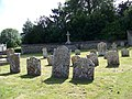 Churchyard, St Mary and St Melor, Amesbury - geograph.org.uk - 863849.jpg