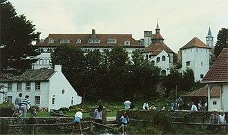 Caldey Island - The Cistercian monastery on Caldey Island