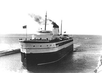 SS City of Midland 41 - Image: City Of Midland Maiden Voyage