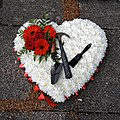 City of London Cemetery white heart floral tribute 1.jpg