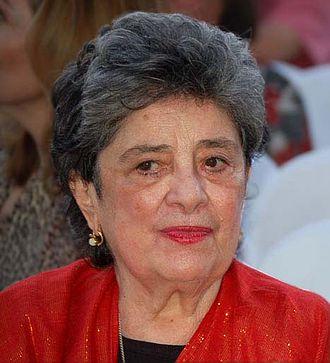 Claribel Alegría - Alegría at the 3rd annual International Poetry Festival in Granada.