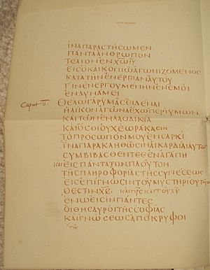 Codex Claromontanus
