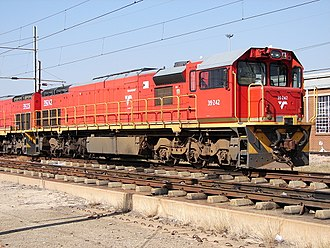 South African Class 39-200 - No. 39-242 at Pyramid South, Pretoria, 14 May 2013