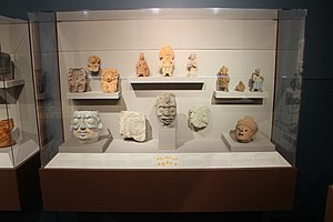Middle American Research Institute - Image: Classic arts molds, ceramics