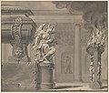 Classical Scene with a Tomb and Flaming Brazier MET DP230594.jpg