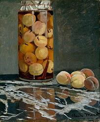 Claude Monet: Jar of Peaches