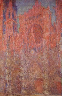 Claude Monet - Rouen Cathedral, Facade I