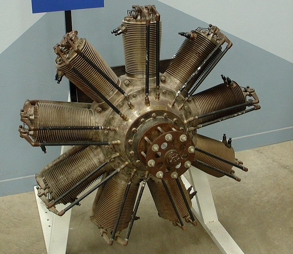Clerget 9B engine
