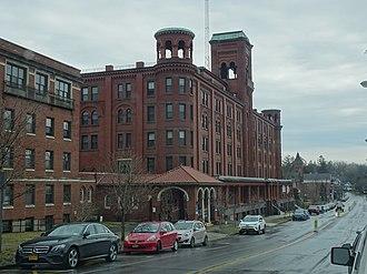 Clifton Springs, New York - Historic sanitarium in 2018.