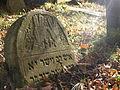 Cmentarz żydowski w Białymstoku, pomnik1.JPG