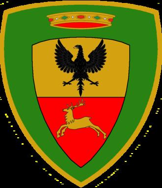 Alpine Brigade Orobica - Coat of Arms of the Alpine Brigade Orobica