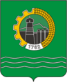 Coat of Arms of Beloretsk (Bashkortostan) (1977).png