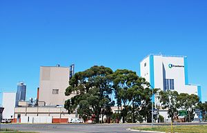English: Fonterra dairy plant at Cobden, Victoria