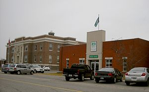 Cochrane, Ontario - District courthouse and town hall