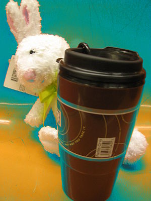 Happy Easter greetings for the caffeine achievers!