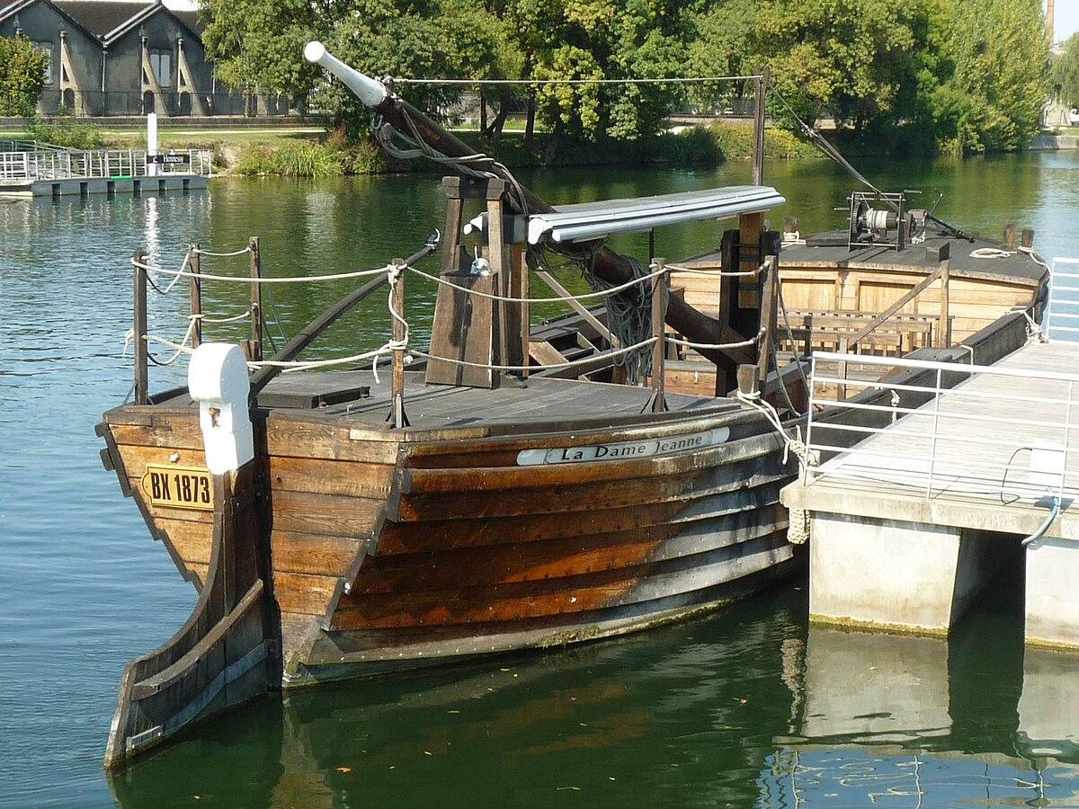 Gabare De Port D Envaux Wikip 233 Dia