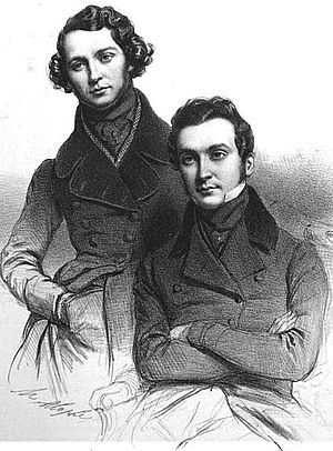 Cogniard brothers - The Cogniard brothers circa 1839
