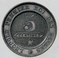 Coin BE 5c Lion rev 20.TIF