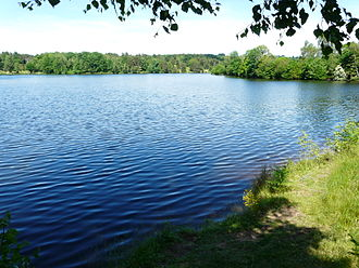 Aubazine - Lake Coiroux
