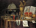 Collier, Evert - Vanitas Still-Life - 1705.jpg
