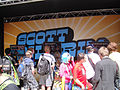 Comic-Con 2010 - the Scott Pilgrim vs Comic-Con Experience video game demo area (4874440827).jpg