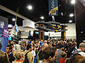 Comic-Con 2010 - the Tron Legacy booth in the distance (4875050804).jpg