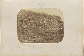 Corte no terreno cretaceo Olinda