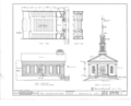 Congregational Church, Highland Drive, Brecksville, Cuyahoga County, OH HABS OHIO,18-BRECK,1- (sheet 1 of 3).png