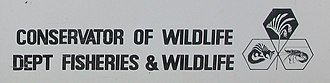 Department of Conservation and Land Management (Western Australia) - Image: Conservator of Wildlife Department of Fisheries and Wildlife 1984