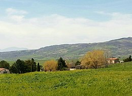 Contrada Sant'Eleuterio and Miscano Valley seen from Aequum Tuticum.jpg