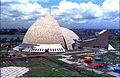 Convention Centre Complex Under Construction - Science City - Calcutta 1996-08-26 252.JPG