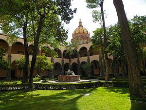 Instituto Allende - Convento de Nuestra Señora de la Concepción, home of the Escuela Universitaria de Bellas Artes