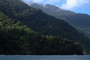 Península de Paria National Park - Image: Cordillera al Mar
