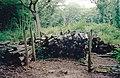 Cordwood stack in 'Topleys', Pound Wood nature reserve, Benfleet - geograph.org.uk - 1639953.jpg