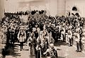 Coronation 1896, walking under cover.jpg