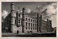 Corpus Christi College, Cambridge. Line engraving by G. Hollis. Wellcome V0014096.jpg