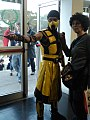 Cosplay of Scorpion (Mortal Kombat) @ Roma Comics & Games 2012 08.jpg